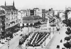 Old Photos, City Centre of Belgrade, Terazije, Serbia