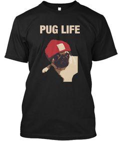 Funny Pug Life Tee Shirt #pug