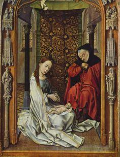 Rogier van der Weyden - Natividad - Capilla Real de Granada