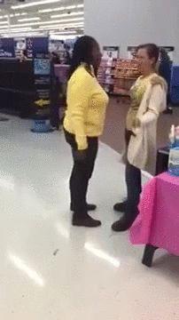 Headbutt to the face!