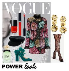 """Untitled #2"" by maria-smile-mariia on Polyvore featuring Millie Mackintosh, Rochas, Manokhi, John Lewis, Chanel, Dolce&Gabbana, girlpower and powerlook"
