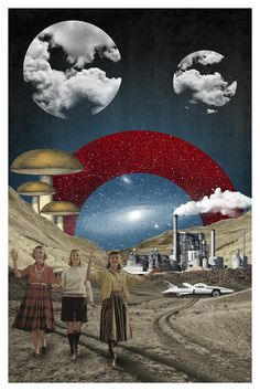 Uncertain Future by Elo Marc Graphic Art