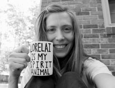gilmore girls mug lorelai is my spirit animal coffee cup gift for mom gift for sister gift for best friend gilmore girls gift christmas gift