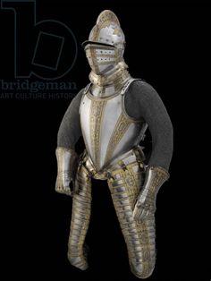 Light field armour of Sir John Smythe, c.1585