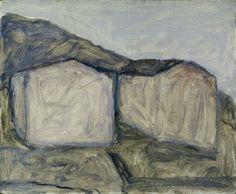 """Giorgio Morandi """"Case di Campiaro a Grizzana"""", 1929"""