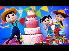 szczęśliwy urodziny piosenka | świętowanie urodzin | piosenki urodzinowe dla dzieci | Happy Birthday - YouTube Bow, Luigi, Minnie Mouse, Valentino, Disney Characters, Youtube, Exercises, Songs, African Fashion
