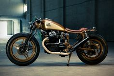 """For a bike that was known as the """"plastic maggot,"""" this custom CX500 has certainly transformed into quite a majestic butterfly. Dirk Oehlerking withKingst"""