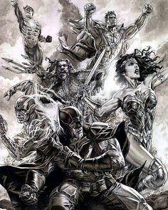 Justice League - Lee Bermejo