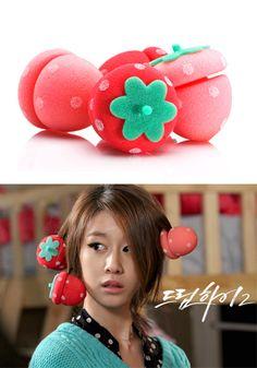 Etude House Strawberry Sponge Rollers