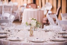 #barn #wedding #barn wedding #okanagan #barnreception #reception #marque #love #lace #chandeliers #parasols #bunting #rustic #barnwood #peach #pink #pastels #milkglass #florals #centrepieces