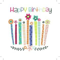 Jeannine Rundle - AD2698A HAPPY BIRTHDAY CANDLES AND FLOWERS.psd