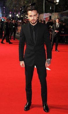 Liam on the red carpet.  Three days ago ❄️