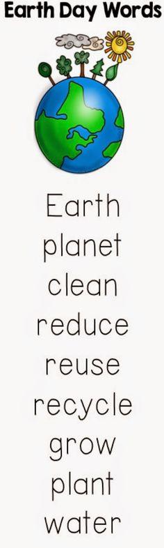 Classroom Freebies Too: Earth Day Writing Freebie