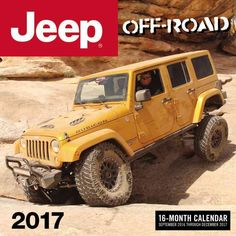 16 months of the ultimate celebration of the off-road life. Photographer Ken Brubaker captures Jeep(r) vehicles doing what they do best - climbing, mudding, and mastering any terrain that comes their