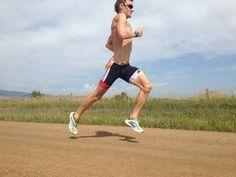 triathlon training tips; running