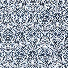 Buy John Lewis Mosaic Print Curtain, Blue Online at johnlewis.com