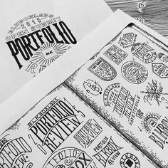 Hand-lettered Typography