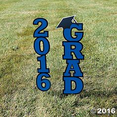 2016 Blue Grad Yard Sign
