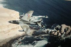 Chilean Air Force Hawker Hunter.