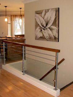 Garde-corps & escaliers - Enfer Design, fabrication d'éléments en métal sur mesure.   Escalier   Rampe   Garde corps