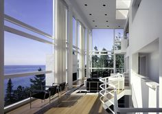 Casa Douglas, Harbor Springs, MI - Richard Meier & Partners - foto: Scott Frances