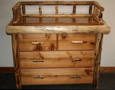 rustic baby furniture   ... Furniture is the Most Durable You Can Buy - Log Furniture Decor