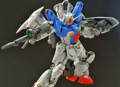 RG 1/144 Gundam GP01FB Full Burnern - Painted build   Modeled by gnd38898