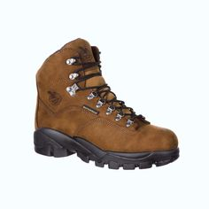 "Georgia Boot GB00125 Comfortable Suspension System Steel Toe Waterproof 6"" Work Hiker from onlineworkboots.com"