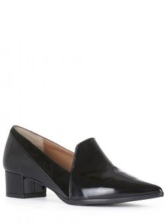 Best selling Womens Mm6 Maison Margiela Chunky Heel Loafers The Cheapest