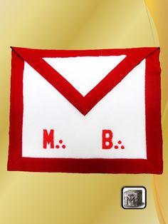 Mandil de Maestro Escocés PREMIUM Color Celeste, Symbols, Letters, Cards, Tela, Lambskin Leather, Pinafore Dress, Skulls, Bias Tape