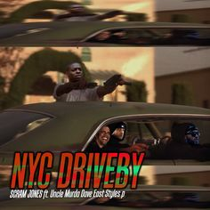 """Scram Jones assembles a lethal lineup on """"NYC Driveby"""" a new banger featuring Uncle Murda, Dave East and Styles P. Continue below to listen and watch out for the falling bodies. Latest Hip Hop Songs, Latest Music, Talib Kweli, Dave East, Hip Hop Albums, Styles P, Hip Hop News, Hip Hop And R&b, Old Music"""