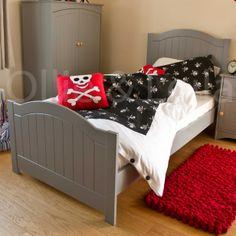 Grey Bed Boys High End Bedroom Furniture