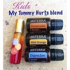 This has become my go too oil Blend for my 2 year old & 4 year old. Anytime one of them complains of a sore tummy I roll this blend and it…