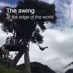 It appears to swing over an abyss at the edge of the Earth. #flights & #hotels #Cruises #RentalCars #mexico #lajolla #nyc #sandiego #sky #clouds #beach #food #nature #sunset #night #love #harmonyoftheseas #funny #amazing #awesome #yum #cute #luxury #running #hiking #flying