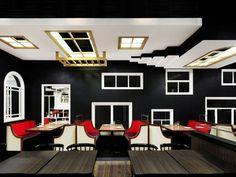 Restaurante The Room, em Hong Kong