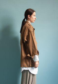 anne klein trench jacket