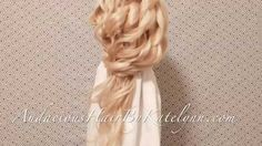 Love long hair. Classy looking hairstyle tutorial. Learn how to create this simple hairdo for medium or long hair.