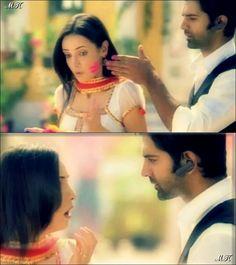 Khushi and Arnav in a promo for Holi Festival #ipkknd Iss Pyaar Ko Kya Naam Doon?