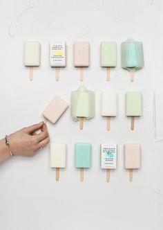 ice block soaps