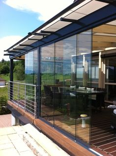 Glas-Schiebetüren Sunflex SF 20