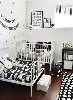 Love the Scandi schic monochrome kids bedroom style? You're going to need this…