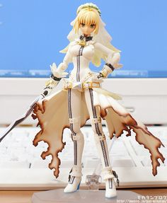 Fate/Extra CCC limited edition Saber Bride figma
