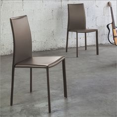 ONLINE OFFER Mac&Mac:Giorno set of 6 napoli dining chairs, taupe