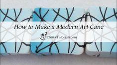 How to Make a Modern Art Cane
