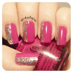 Instagram photo by 4ubyu  #nail #nails #nailart