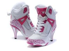 competitive price ec224 7e533 Air Jordan High Heels Shoes White Pink - Jordan Nikes Under Armour Puma