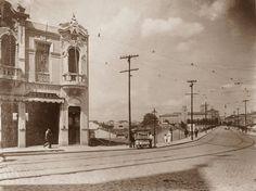 Largo e Viaduto Santa Hifigenia, 1916