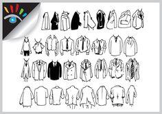 Clothes - kleding - cartoon