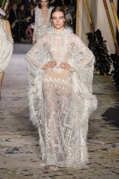 Zuhair Murad Haute Couture Spring 2018 looks from the runway.
