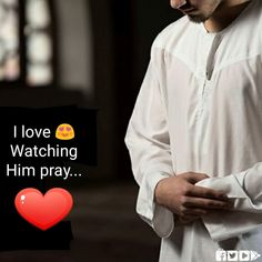 I love watching him pray ♥ Muslim Couple Quotes, Cute Muslim Couples, Muslim Quotes, Religious Quotes, Beautiful Islamic Quotes, Islamic Inspirational Quotes, Romantic Love Quotes, Hadith, Alhamdulillah